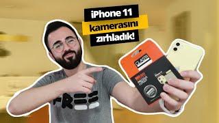 iPhone 11 kamerası kurşun geçirmez oldu!