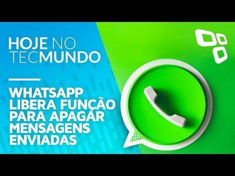 WhatsApp libera função para apagar mensagens enviadas - Hoje no TecMundo