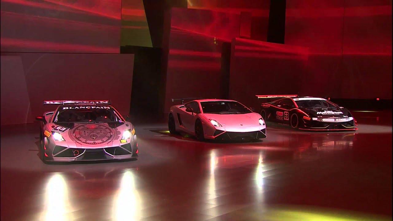 Lamborghini Gallardo 570 4 Squadra Corse Auf Der Iaa Youtube