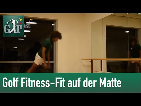 Golf Fitness – Fit auf der Matte by Golf Post