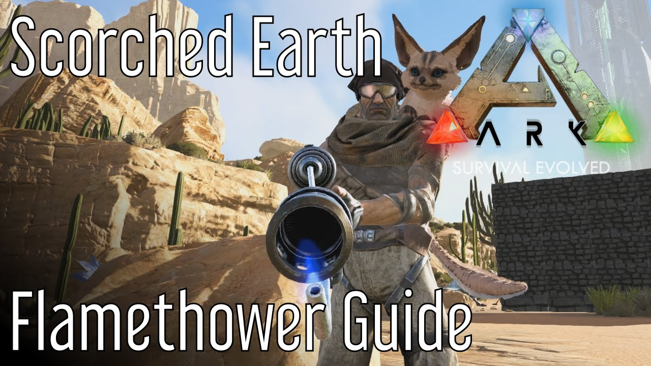 Flamethrower (Scorched Earth) - Official ARK: Survival Evolved Wiki