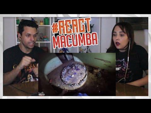 REACT A Casa da MACUMBA - Caçadores de Lendas (Renato Garcia)