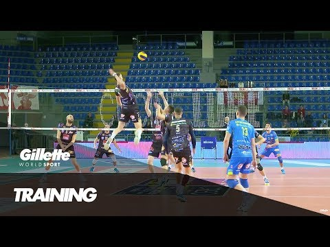 Volleyball Training with Lube Volley | Gillette World Sport