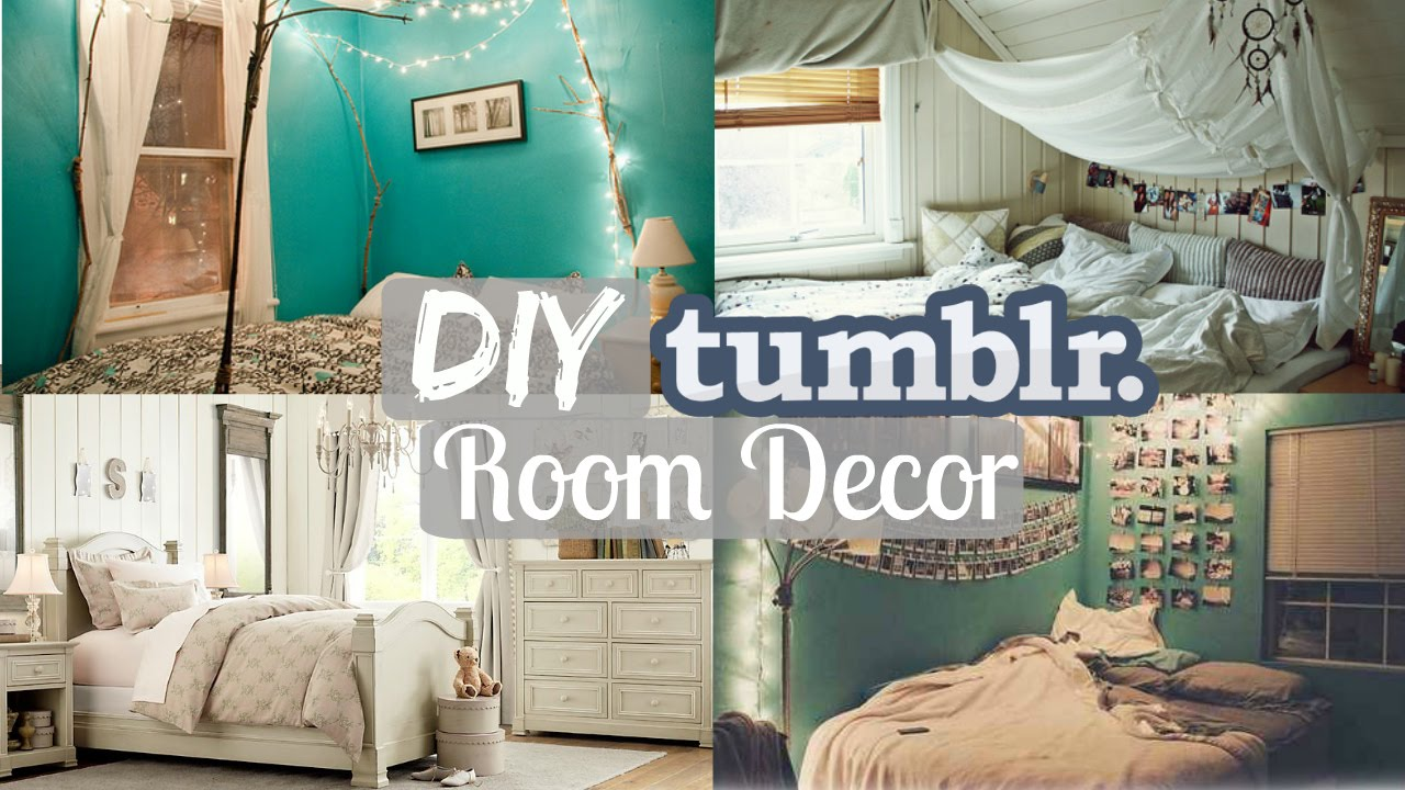 Beautiful DIY Tumblr Room Decor  Cheap U0026 Easy!   YouTube