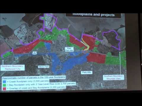 SFCJPA Upstream of Hwy. 101 project EIR scoping meeting in Menlo Park 1.18.17