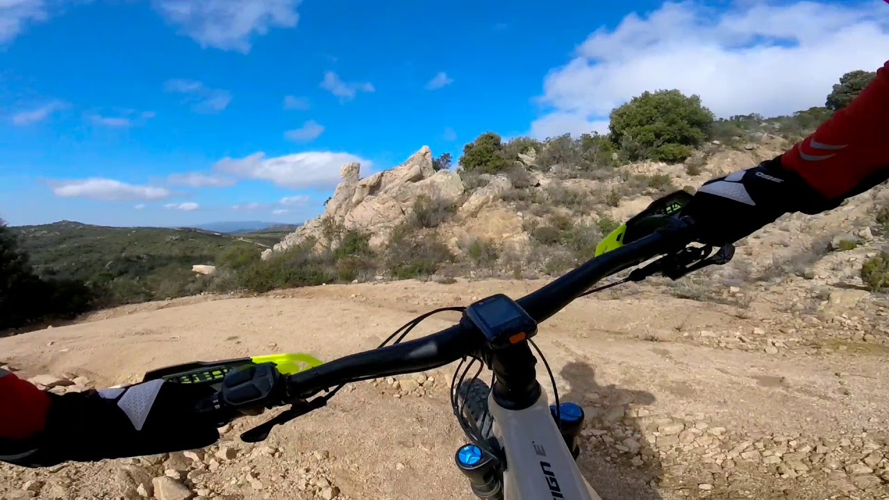 MTB Monte Pino Olbia - YouTube