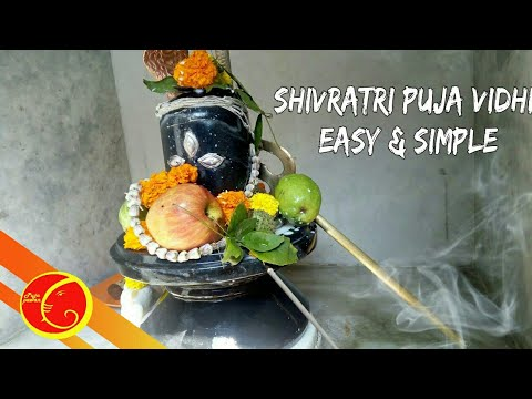 Shivratri puja  vidhi easy and simple | daily  shiv puja vidhi in Bengali 2018 | shivratri puja