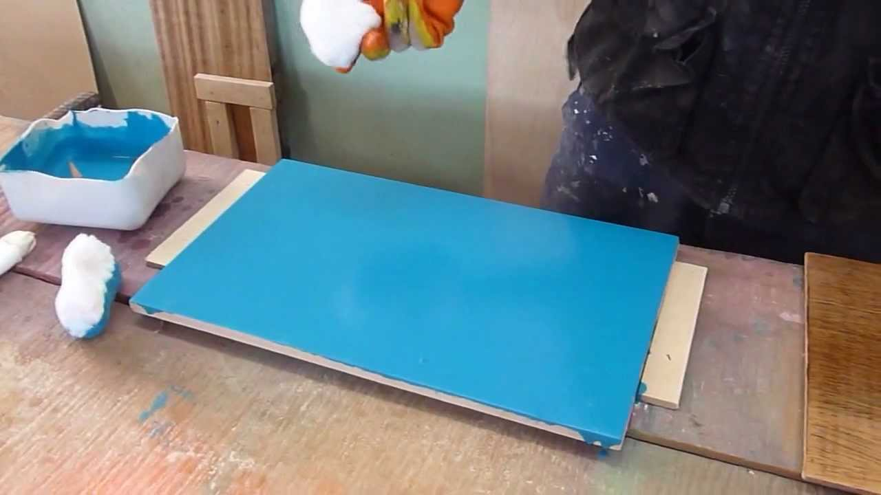 Pintando mdf y madera de forma casera o manual youtube - Muebles de colores pintados ...