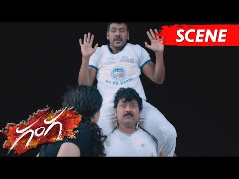 Lawrence And Sriman Hilarious Comedy With Taapsee - Ganga Movie Scenes