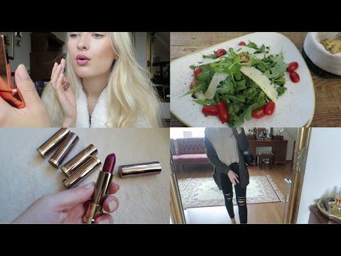 Vlog: Crazy Lipsticks? New Car. Bad Salad :(
