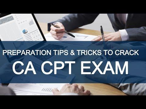 Preparation Tips & Tricks to Crack CA CPT Exam