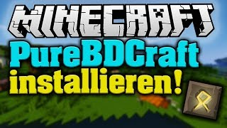 MINECRAFT 1.9: Sphax PureBDcraft Resourcepack Installation/Download! - Tutorial! | Deutsch