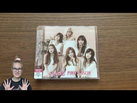 Unboxing Apink 1st Japanese Studio Album PINK SEASON [Type B (CD+DVD) Edition]