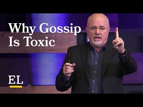 No Gossip Policy | Dave Ramsey