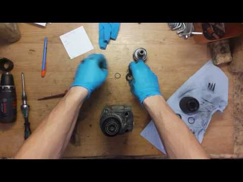 How to disassemble and find problem in Bosch rotary hammer drill GBH 4 DFE