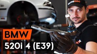 BMW 5 (E39) Kormány gömbfej beszerelése: ingyenes videó