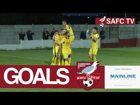 Goals: Ossett Town v Scarborough Athletic - 15/08/2017