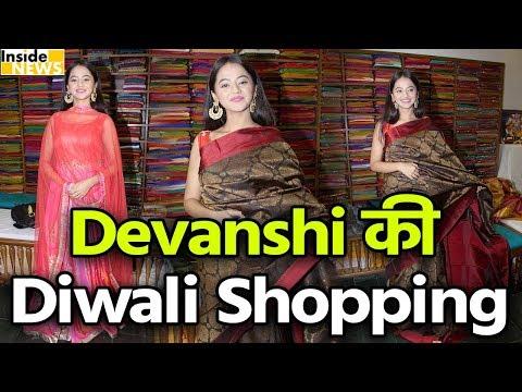 Devanshi & Gulaal Serial Actress Helly Shah at Sundari Skills Store Launch