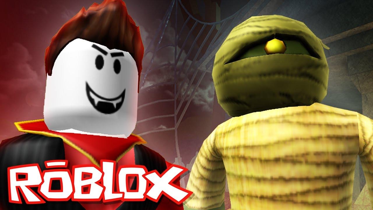 Roblox Halloween Vampire Hunters 2 Mummy Vs Vampire Youtube
