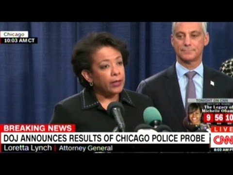 Justice Department Report Finds Chicago Police Full Of Sadists Racist POS!