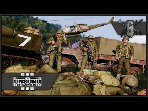 Stranded, Surrounded and Outnumbered - ArmA 3 Unsung Vietnam Mod- RTO/PL Gameplay