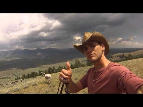 Horse Drive- Silver Spur Ranch Idaho