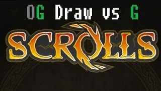 [EPIC] Blinky vs jessesmit - Order Growth Draw vs Mono Growth - Scrolls (Mojang) Ranked Replay