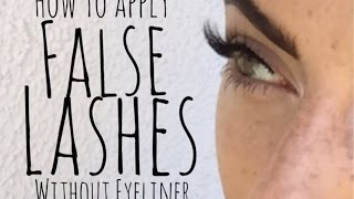 How To Apply Top/Bottom Lashes | HudaBeauty Review | BeautyThroughBri