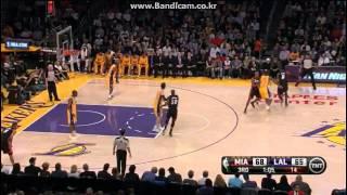 LeBron James (39Pts) Dwyane Wade (27Pts) vs Lakers (2013.01.17)