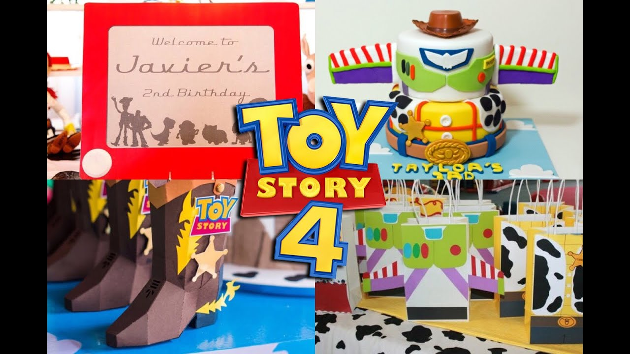 30 Ideas Para Fiesta De Toy Story 4 Toy Story Party Ideas