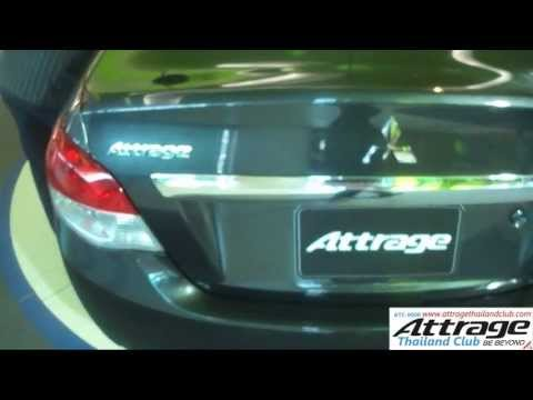 Review mitsubishi Attrage คลิปรีวิว แอททราจ GLS Ltd. cvt : attragethailandclub
