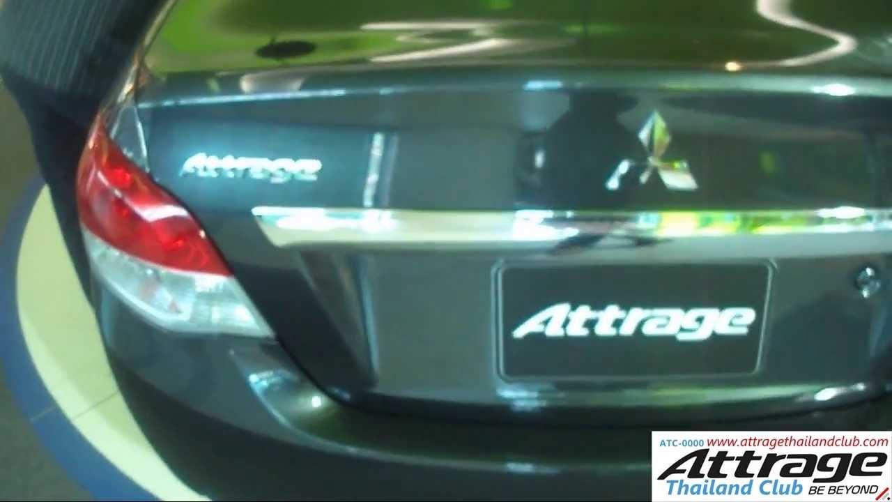 Review Mitsubishi Attrage GLS CVT ในรูปแบบคลิป รีวิว แอทท ...