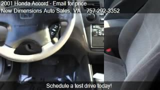 2001 Honda Accord LX sedan - for sale in VA Beach, VA 23511