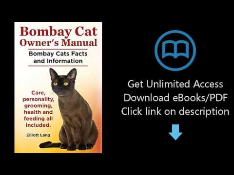 Download Bombay Cat Owner's Manual. Bombay Cats Facts and Information. Care, Personality, Groomi PDF