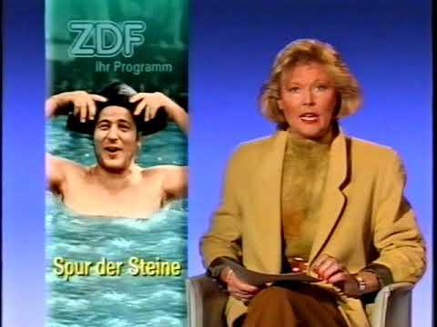 """ZDF Ansage """"Spur der Steine"""" 01.10.1990"""