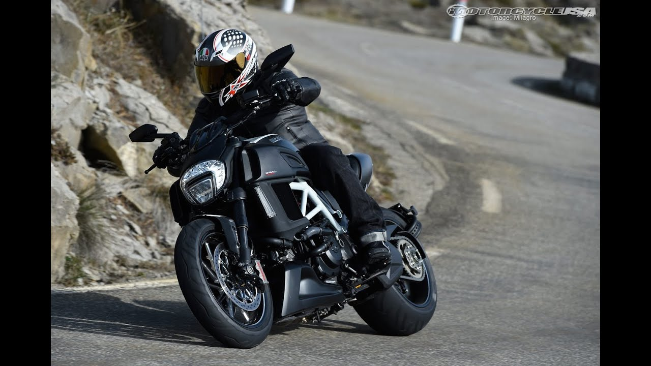 2015 Ducati Diavel Carbon First Ride Motousa Youtube