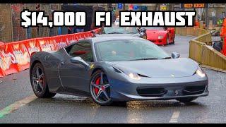 Perfection - Ferrari 458 Italia with IPE Titanium F1 Exhaust