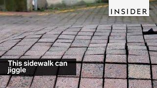 Artists Created A Sidewalk That Jiggles thumbnail