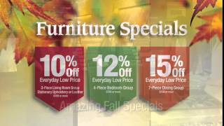 Title-Furniture Specials + 18 month financing