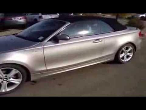 Used 2008 BMW 1 Series 2dr 128i Convertible Edmonton, Alberta - YouTube