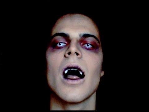 Trucco Halloween Vampiro Uomo.Willwoosh E Un Vampiro Make Up Tutorial Per Halloween