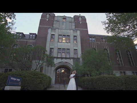 The Michigan League Ann Arbor Jewish Wedding | Shannon + Michael Trailer