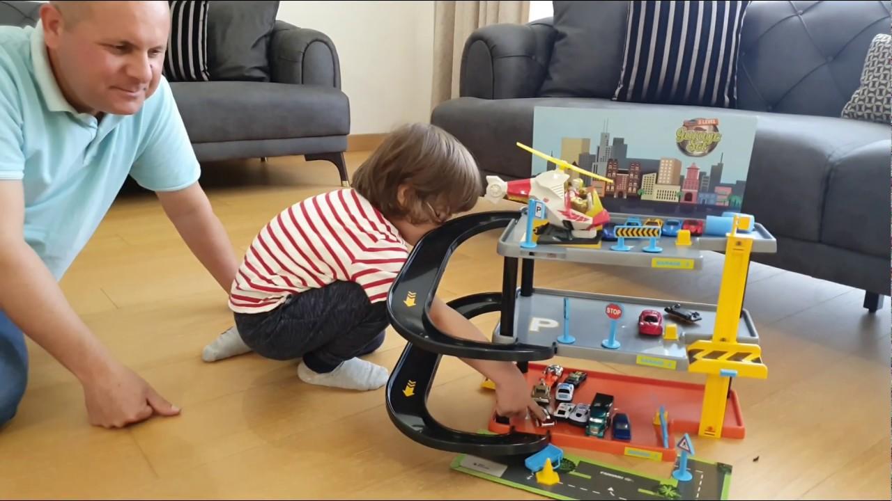 Fatih Selim'in yeni garaj setini kurduk katlı otoparkımıza arabaları yerleştirdik