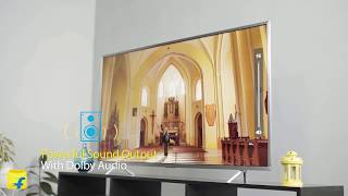 iFFALCON by TCL AI Powered K31 (55 inch) Ultra HD (4K) LED Smart Android TV HDR 10 (55K31)
