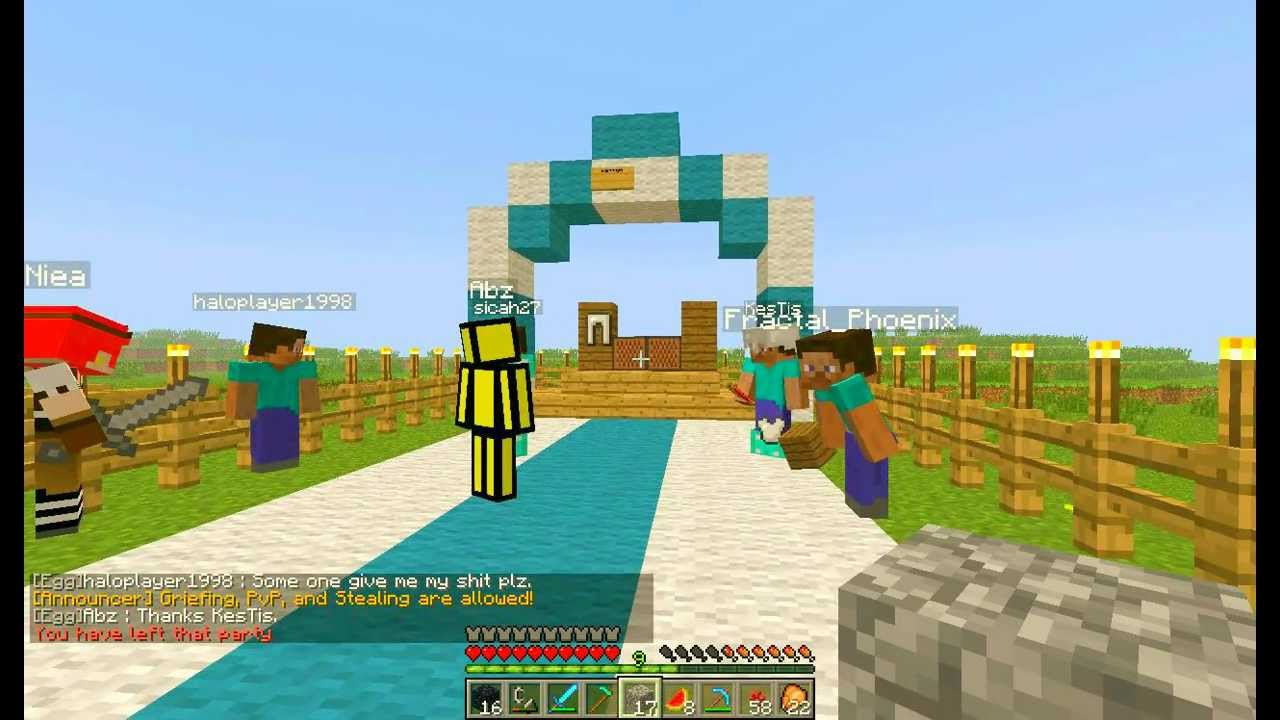 How To Build A Wedding Arch In Minecraft