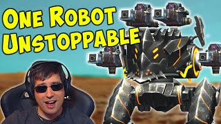 One Robot Destroy Them All - BLITZ QUARKER Overdrive - War Robots Gameplay WR