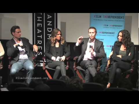 Hilary Swank and Tony Goldwyn and Sam Rockwell discuss the intense make up used in Conviction