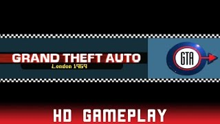 Grand Theft Auto: London 1969 - Sony Playstation (PS1) - HD Gameplay