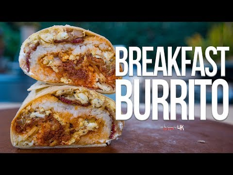 The Best Breakfast Burrito | SAM THE COOKING GUY 4K