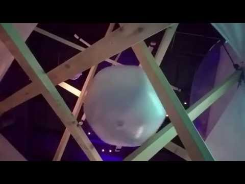 Phillip Granke Ball Drop - Modular Art Pods at OZ Art Fest